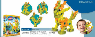Bloco Foam Builders: Dragon of the Light