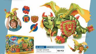 Bloco Foam Builders: Combat Dragon