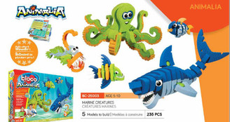 Bloco Foam Builders: Marine Creatures Set