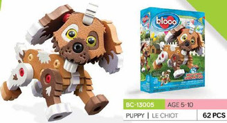Bloco Foam Builders: Build-A-Friend Puppy