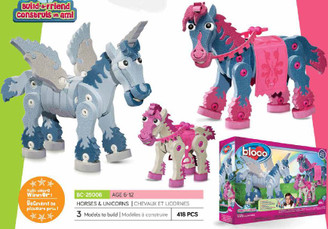Bloco Foam Builders: Build-A-Friend Horses & Unicorns