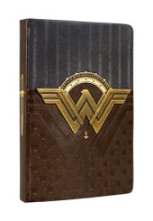 DC Wonder Woman Metal Insignia Premium Journal