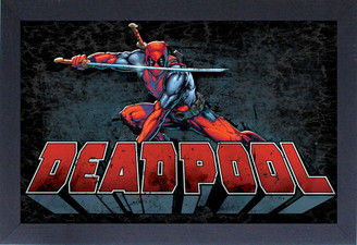 Marvel Deadpool Pose Framed Wall Decor