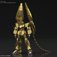 Gundam High Grade: Unicorn Gundam 03 Phenex Gold Coating Ver. Model Kit