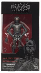 Star Wars Black Series Wave 21 6-Inch 0-0-0 (Triple Zero) Action Figure