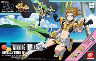Gundam High Grade: Winning Fumina Model Kit