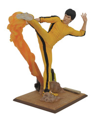 Marvel Gallery Bruce Lee Statue with Flame Kick