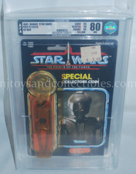 Star Wars Vintage POTF EV-9D9 Action Figure AFA 80