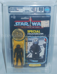 Star Wars Vintage POTF Imperial Gunner Action Figure AFA 80