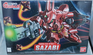 Gundam Super Deformed: Sazabi MSN-04 Model Kit