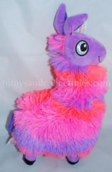 Plush Purple & Pink Llama