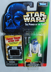 Star Wars POTF2 Green Card R2-D2 Freeze Frame Action Figure