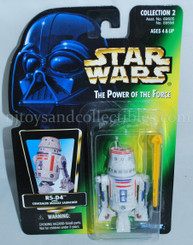 Star Wars POTF2 Green Card R5-D4 Action Figure