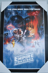 Star Wars Empire Strikes Back Framed Wall Decor Poster