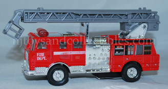 Diecast Vehicles: Fire Truck with Ladder