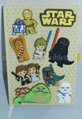 Star Wars Animated Character Premium A5 Notebook
