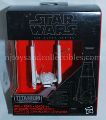 Star Wars Black Series Titanium Diecast Kylo Ren's Command Shuttle