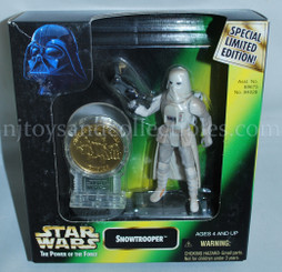Star Wars POTF2 Millennium Snowtrooper with Coin