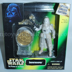 Star Wars POTF2 Millennium Snowtrooper with Coin and Text