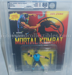 Mortal Kombat Vintage Sub-Zero 4-Inch Action Figure AFA 80