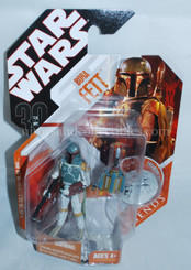 Star Wars 30th Anniversary Boba Fett Action Figure with Coin
