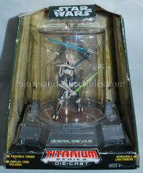 Star Wars Diecast Titanium Series General Grievous