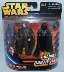 Star Wars ROTS Anakin to Darth Vader Transition Action Figure Set