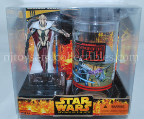 Star Wars ROTS General Grievous with Collectors Cup
