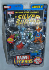 Marvel Legends Silver Surfer Series V 6-Inch Super Poseable Action Figure