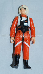 Star Wars Vintage Loose Luke Skywalker X-Wing Pilot Action Figure