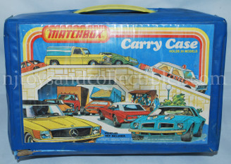 Vintage Matchbox 24 Vehicle Carrying Case