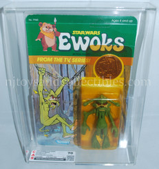 Star Wars Vintage Ewoks Dulok Scout with Coin CAS 70