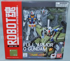 Gundam Robot Spirits Full Armor 0 Gundam Action Figure