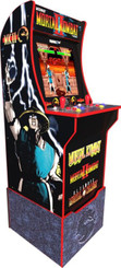 Arcade1Up Mortal Kombat Arcade Machine with Riser