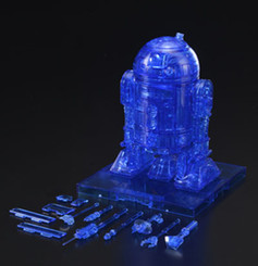 Star Wars R2-D2 Hologram Version Deluxe 1:12 Scale Model Kit *EXCLUSIVE*