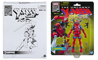 Marvel Legends Retro Collection Deadpool 6-Inch Action Figure