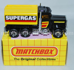 Matchbox #56 1983 Peterbilt SuperGas Tanker Diecast Vehicle