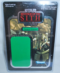 Star Wars Vintage Collection General Grievous Proof Card