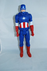Marvel Superhero Loose 12-Inch Captain America Action Figure
