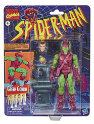 Spiderman Retro Style Green Goblin 6-Inch Action Figure