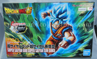 Dragonball Z SSGSS Son Goku Figure-Rise Standard Model Kit