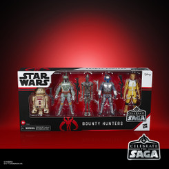 Star Wars Celebrate 3.75-Inch Bounty Hunter Action Figure Set