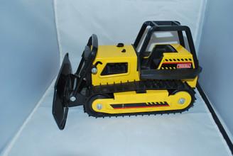 Tonka Mighty Diesel Pressed Steel Bulldozer