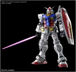 Gundam Perfect Grade: RX-78-2 Unleashed 1:60 Model Kit