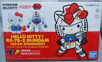 Gundam Super Deformed: Hello Kitty/RX-78 Model Kit