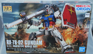 Gundam High Grade: RX-78-02 Gundam The Origin Model Kit