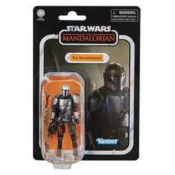 Star Wars Vintage Collection Mandalorian Beskar Action Figure