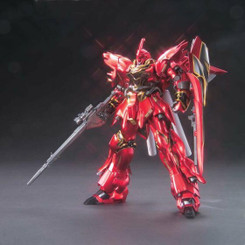 Gundam High Grade: Sinanju Exclusive Titanium Finish Model Kit