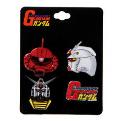 Gundam 4 Pack Lapel Pin Set