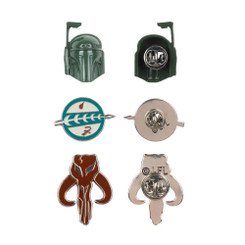 Star Wars Boba Fett Lapel Pin Set  **Limited Edition**